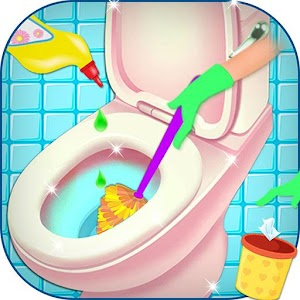 Bathroom clean up makeover android apps on google play for 9 bathroom cleaning problems solved