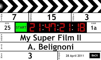 Screenshot of Clapperboard / Clapboard