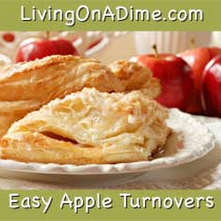 Easy Turnovers – (apple, peach, cherry or blueberry)