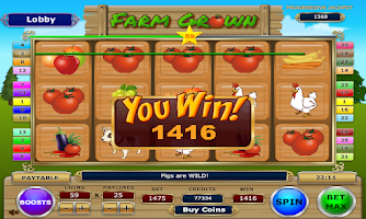Screenshot of Farm Grown Slots