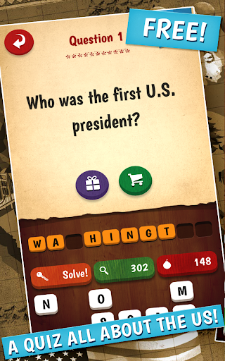 The American Quiz - screenshot