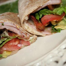 Evan's Peppered Turkey Wrap