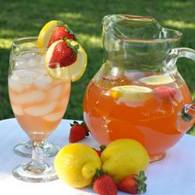 Pink Honey Lemonade