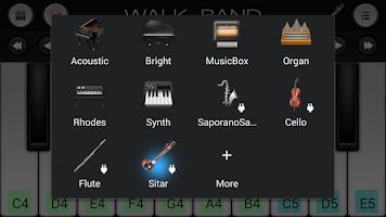Screenshot of Sitar Sound Plugin