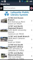 Screenshot of Lafayette Public Library
