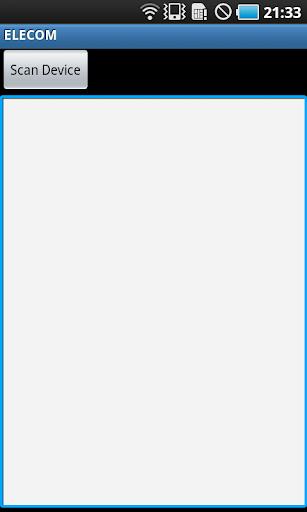 Bluetoothキーボード用辞書ソフトウェア