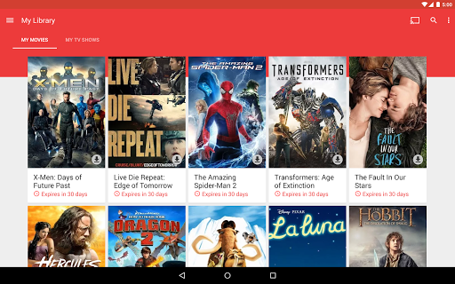 Google Play Filmes - Imagem 1 do software