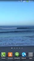 Screenshot of Waves Live Wallpaper HD 16