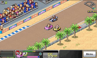 Screenshot of Grand Prix Story Lite