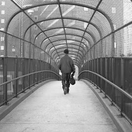 The Bridge by Paul Hopkins - People Street & Candids (  )