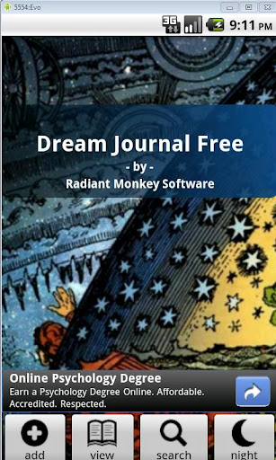 Dream Journal Demo
