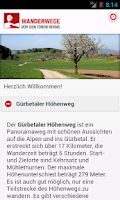 Screenshot of Wanderwege vor den Toren Berns