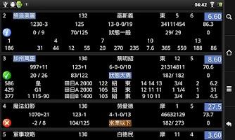 Screenshot of 名馬(eRace)香港賽馬系統