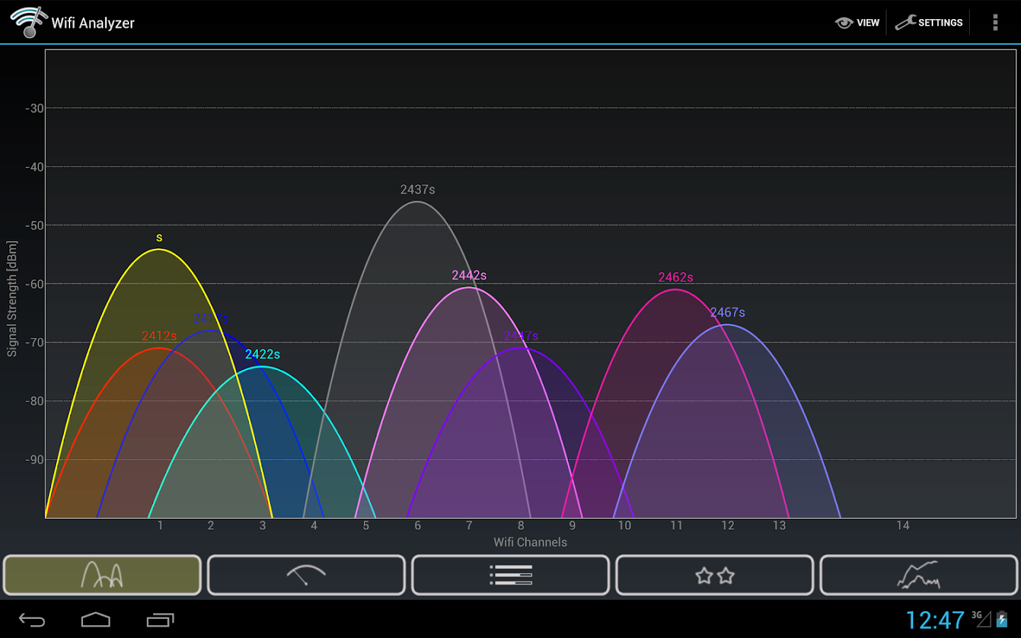 Wifi Analyzer Screenshot 8
