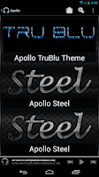 Screenshot of Apollo Steel Theme