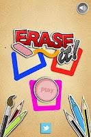 Screenshot of Erase It