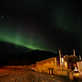 Northern Lights by Bill Howard - Transportation Other