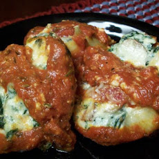 Stuffed Shells With Ricotta and Spinach (By Gertc96 & 2bleu)