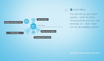 Screenshot of Visual Calendar for Tablets