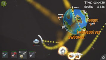 Screenshot of Smashing Planets