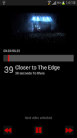 Screenshot of Rock Top 40 Chart