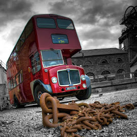 On the buses by Michael Payne - Transportation Automobiles (  )