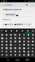 Screenshot of Pure Android Emoji Keyboard