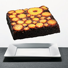 Pineapple Upside-Down Pumpkin Gingerbread
