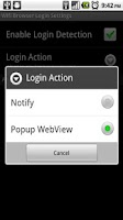 Screenshot of Wifi Browser Login