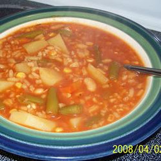 Quick and Easy Vegetable Soup