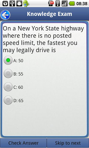 Driver License Test New York