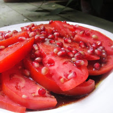 Cook the Book: Tomato, Pomegranate and Sumac Salad