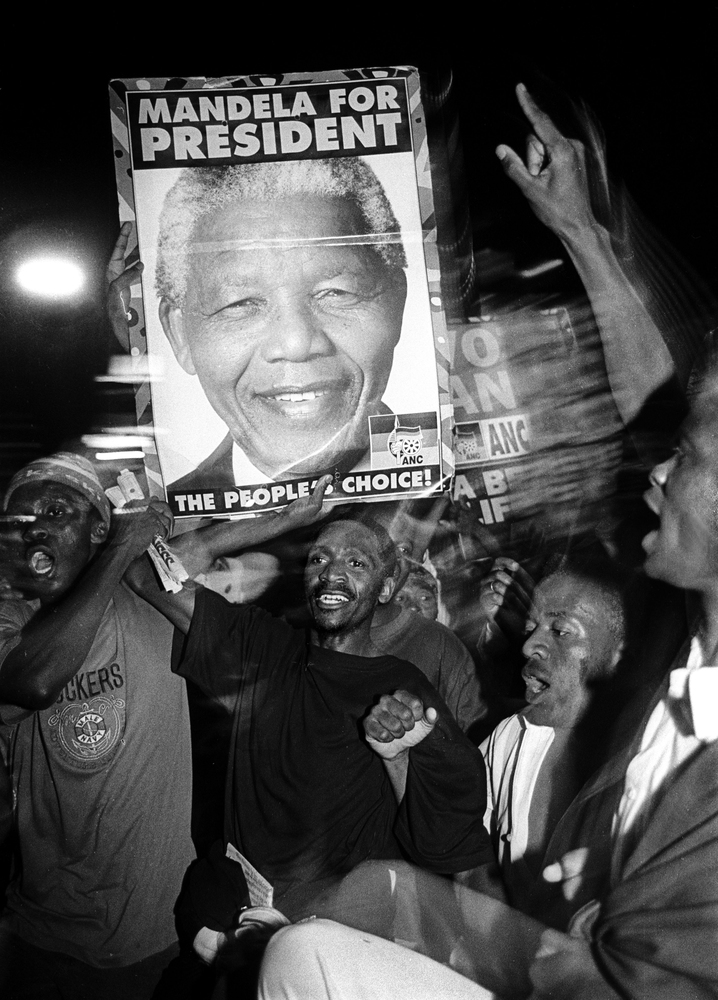 Celebrations: Mandela for president