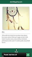 Screenshot of Arti Mimpi LENGKAP 2014