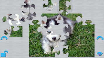 Screenshot of Puppies Puzzle