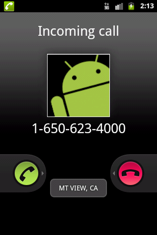 City State Caller ID - screenshot