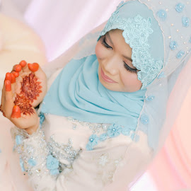 I`m the bride by Muhammad Nal Rashid - Wedding Bride ( portraiture, wedding, engagements, portraits, bride, women )