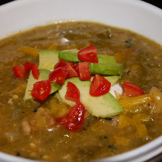 Kick-Ass Green Chili