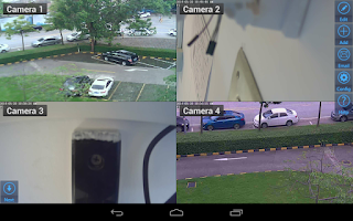 Screenshot of Viewer for Vstarcam IP cameras