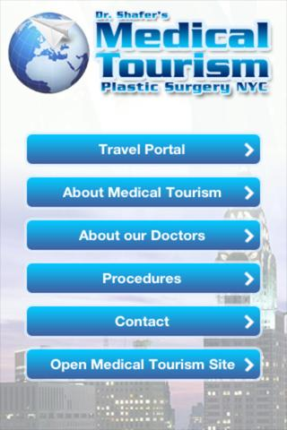 Dr. Shafer's Medical Tourism