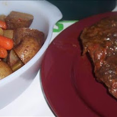 Zesty Slow Cooker Italian Pot Roast