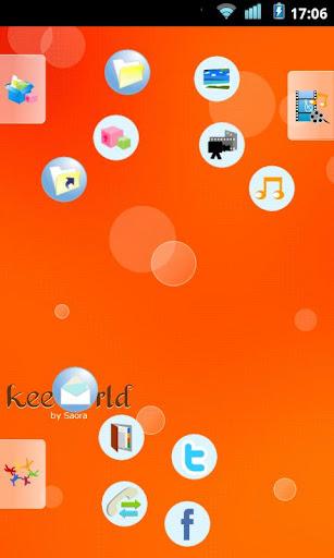 keeworld主題:快樂橙