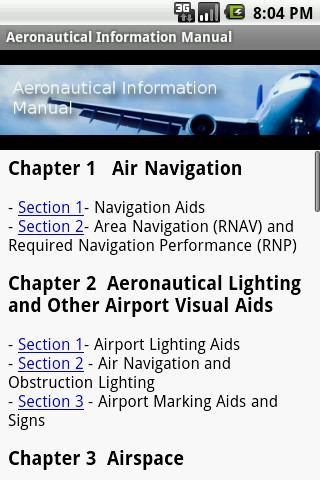 Aeronautical Information Manua