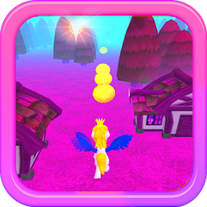 Hack My Little Unicorn Dash 3D HD game