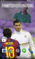 Screenshot of 3D Cristiano Ronaldo Live WP