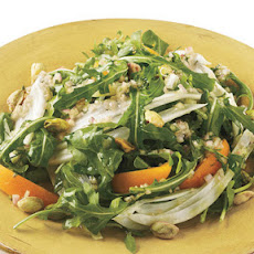 Arugula, Fennel, and Apricot Salad