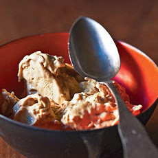Cinnamon Breadcrumb-Sprinkled Ice Cream