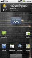 Screenshot of Battery Monitor Lite