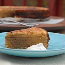 Bibingka - Goan layered coconut cake