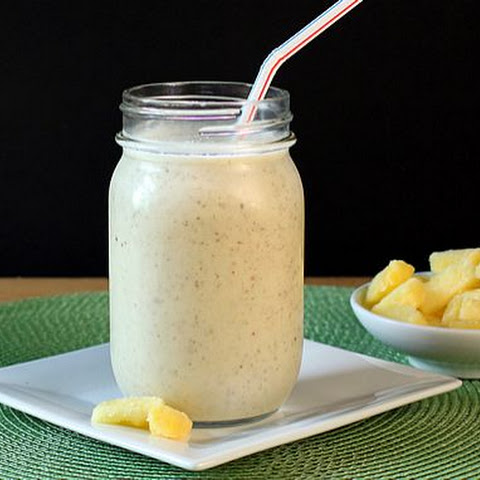 Pineapple Coconut Milk Smoothie